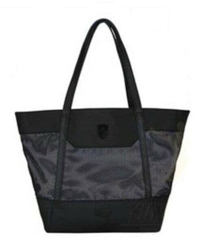Puma Ferrari LS Mesh Summer Tote Bag Black BNWT Very Rare Licensed 074612 01